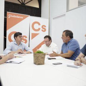 Pimentel reafirma el compromiso de Ciudadanos con el diálogo con la plantilla municipal y la dignificación de su trabajo