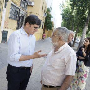 Ciudadanos exige a Espadas que cumpla con su promesa de instalar ascensores en las viviendas de Las Letanías