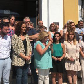 Ciudadanos muestra su apoyo a la mujer agredida en Gelves y anima a denunciar la violencia machista