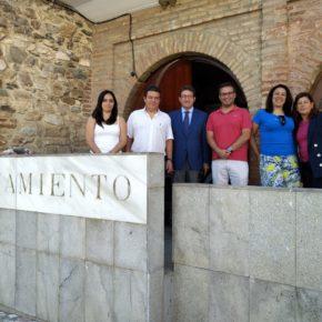 Ciudadanos reclama al gobierno de la Diputación la mejora de la conexión por carretera entre Almadén de la Plata y Cazalla