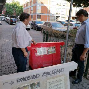"""Ciudadanos exige """"un plan que mejore la movilidad y la limpieza"""" en Santa Cecilia"""