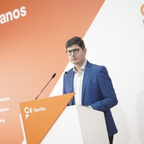 """Pimentel reclama a Espadas """"medidas fiscales"""" para frenar la subida del paro en Sevilla"""
