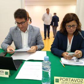 Ciudadanos obtiene el acuerdo unánime del Pleno de la Diputación de Sevilla a la moción sobre la financiación autonómica