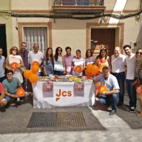 Jóvenes Ciudadanos (JCs) celebra este sábado en San Juan de Aznalfarache su segunda campaña de recogida de material escolar