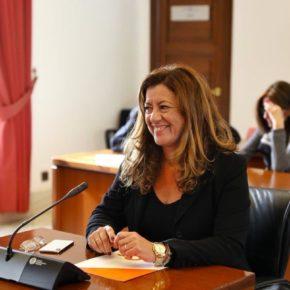 Hormigo defiende el compromiso del Gobierno andaluz con las políticas de apoyo a las mujeres