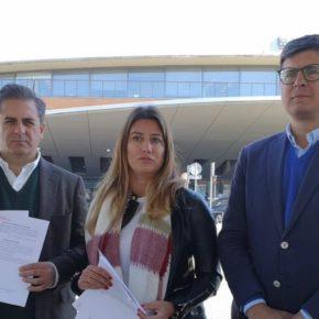 """Salmerón: """"Después del 10 de noviembre el Gobierno de Ciudadanos desbloqueará la conexión ferroviaria entre el aeropuerto y la estación de Santa Justa"""""""