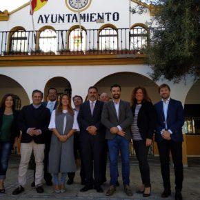 """Cambronero: """"Bormujos es un ejemplo de lo que Ciudadanos quiere hacer en España: desbloquear un gobierno y hacer política útil"""""""