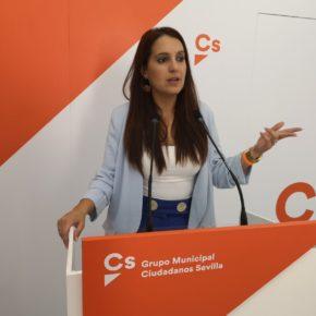 """Ciudadanos presenta ocho medidas para hacer de Sevilla """"una ciudad más accesible"""""""