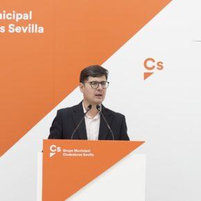 """Ciudadanos califica el presupuesto de """"papel mojado"""" y alerta de la """"incapacidad"""" de Espadas para ejecutarlo"""