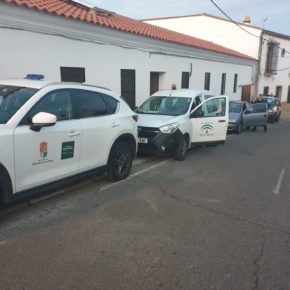 El gobierno de Almadén de la Plata contrata un servicio de vigilancia para reforzar la seguridad en el municipio