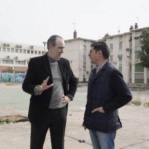 """Pimentel pide un """"esfuerzo más"""" al Ayuntamiento para """"reforzar los servicios sociales"""" en el Polígono Sur"""