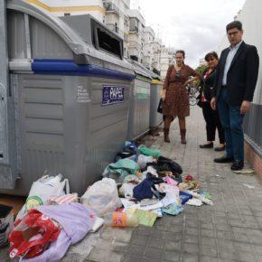 """Ciudadanos alerta de """"graves problemas de insalubridad"""" junto a los colegios y el ambulatorio del Polígono Norte"""
