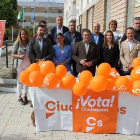 """Cambronero: """"Cada voto a Ciudadanos se traducirá en una solución a cada uno de los problemas de la provincia de Sevilla"""""""