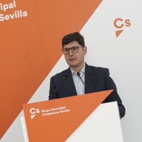 """Ciudadanos critica que Espadas """"permanezca impasible"""" ante la caída de población y reclama """"políticas para ponerle freno"""""""