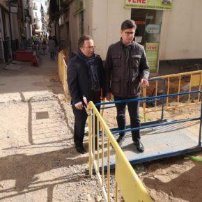 """Ciudadanos exige a Espadas que """"no dilate más los plazos"""" de la obra de peatonalización de la calle Baños"""