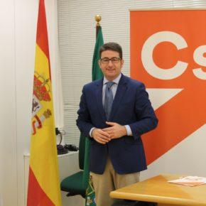 """Benjumea: """"Los ayuntamientos y diputaciones reciben mejor financiación de la Junta desde que Ciudadanos ha llegado al gobierno andaluz"""""""