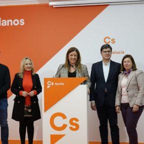 """Hormigo: """"Gracias a Ciudadanos, Sevilla tiene ahora el presupuesto que el PSOE pretende paralizar"""""""