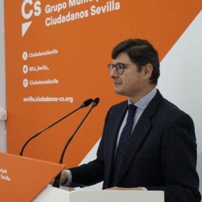 """Ciudadanos pide """"un plan municipal de empleo extraordinario"""" para """"salvar de la crisis a las familias sevillanas"""""""