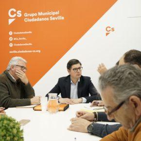 """Ciudadanos critica la """"falta de implicación"""" de Espadas en la prueba piloto de Lipasam"""