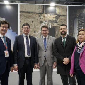 """Ciudadanos defiende en FITUR que """"Sevilla debe apostar por un modelo de turismo de calidad para seguir creciendo como destino de primer nivel"""""""