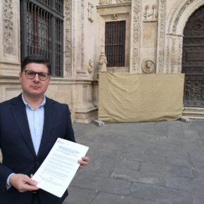 """Ciudadanos lamenta que la Cruz de la Inquisición siga sin reponerse y culpa de ello a """"la dejadez"""" del equipo de gobierno"""