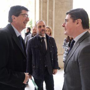 """Pimentel valora """"el impulso"""" de la Junta al proyecto de la Ciudad de la Justicia como """"un ejemplo más de su compromiso por Sevilla"""""""
