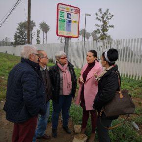 """Ciudadanos pide """"aumentar la frecuencia"""" de la línea 16 de Tussam al Centro Social Miraflores"""