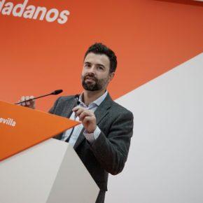 Cambronero será el portavoz de Ciudadanos en las comisiones de Interior y Defensa del Congreso de los Diputados