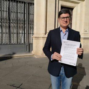 """Pimentel destaca """"el compromiso de Ciudadanos con Sevilla"""" para """"hacer posible"""" la nueva Ciudad de la Justicia"""