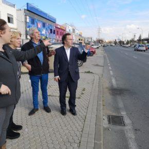 """Ciudadanos reclama un nuevo paso de peatones en la avenida de Montes Sierra para """"evitar accidentes y atropellos"""""""