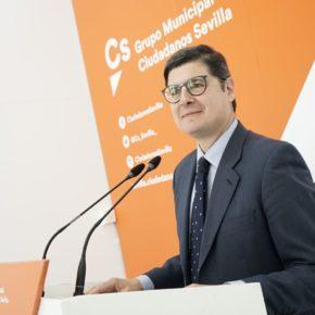 """Ciudadanos pide al Ayuntamiento de Sevilla destinar """"todo el superávit municipal a políticas sociales y de reactivación"""""""