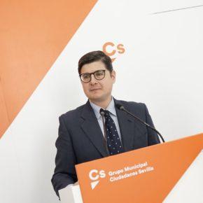 """Ciudadanos pide a Espadas que """"concrete en qué va a invertir los dos millones del Fondo Social que ha adelantado la Junta"""""""