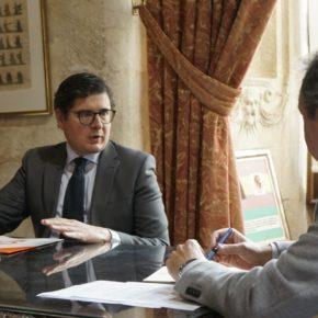 """Pimentel anuncia su """"apoyo decisivo"""" al Plan de Inversiones que """"hará realidad proyectos abanderados por Ciudadanos"""""""