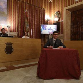 """Pimentel tilda de """"éxito"""" el pacto social suscrito hoy y valora que incluya """"más del 90% de las propuestas de Ciudadanos"""""""