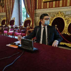 """Ciudadanos propone """"el uso obligatorio de mascarillas"""" en el interior del Ayuntamiento y los edificios municipales"""