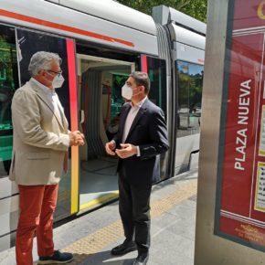 """Ciudadanos invita a los sevillanos a """"recuperar la confianza en Tussam"""" como medio de transporte """"útil, eficaz y sostenible"""""""