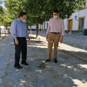 """Ciudadanos reclama """"mejoras"""" en el Patio de Banderas y pide """"plazos concretos"""" para la apertura de la cripta"""