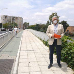 """Ciudadanos propone la instalación de """"estructuras de sombra"""" en los puentes para """"favorecer la movilidad peatonal"""""""