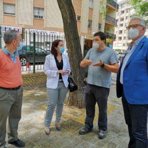 """Ciudadanos reclama """"un plan urgente de poda"""" y la """"renovación de los acerados"""" en la avenida Alcalde Juan Fernández"""
