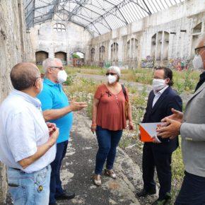 """Ciudadanos reclama """"acelerar"""" la rehabilitación de las Naves de Renfe para """"no perder los fondos europeos"""" del proyecto"""