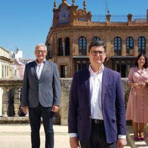 """Pimentel valora la """"utilidad"""" de Ciudadanos en este primer año de mandato y ofrece a Espadas """"un pacto por Sevilla"""""""