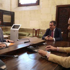 """Ciudadanos acuerda con Espadas el apoyo al Plan Extraordinario de Inversiones para """"reactivar la economía de la ciudad"""""""