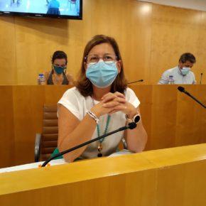 """Santa María afirma que """"sustraer"""" el superávit a los ayuntamientos es un """"atentado a la autonomía local"""""""