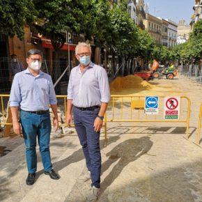 """Ciudadanos propone una """"moratoria fiscal"""" a los comerciantes de la calle Mateos Gago para """"paliar las pérdidas por la obra"""""""