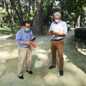 """Ciudadanos propone dotar de """"una red wifi gratuita"""" al Parque de María Luisa como """"proyecto piloto"""" para el resto de espacios verdes"""