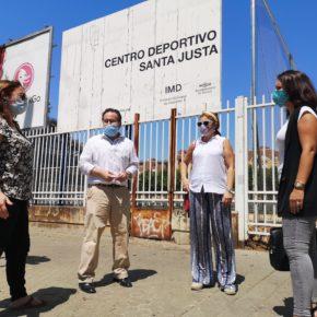 """Ciudadanos lamenta """"la preocupante dejadez"""" que presenta el Centro Deportivo Santa Justa y reclama su """"uso vecinal"""""""