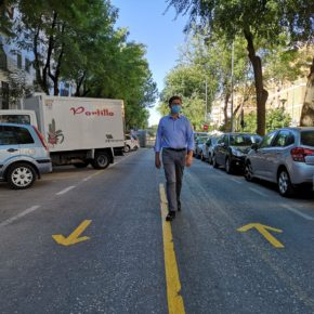 """Ciudadanos denuncia """"caos de tráfico"""" en el barrio del Tardón por los """"desvíos improvisados"""" de las obras del nuevo colector"""