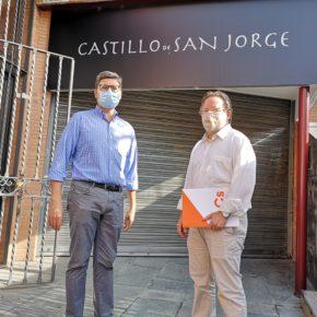 """Ciudadanos reclama """"explicaciones"""" al gobierno municipal por """"el enésimo cierre al público"""" del Castillo de San Jorge"""