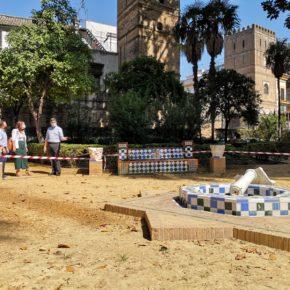 """Ciudadanos reclama """"un plan de vigilancia"""" en los Jardines de Murillo para que """"el vandalismo no se apodere del patrimonio"""""""