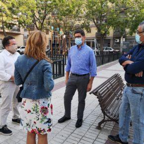 """Ciudadanos reclama """"un refuerzo de la seguridad y la limpieza"""" en la Plaza de las Aceituneras del barrio de Triana"""